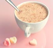 kakao mleko obraz stock