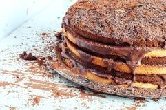 Kakao och kakor Arkivbild