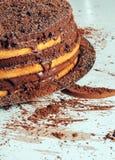 Kakao och kakor Arkivfoton