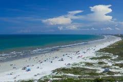 Kakao plaża, przylądek Canaveral fotografia stock
