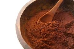 Kakao-pulver Royaltyfria Bilder