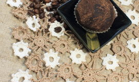 Kakao tort zdjęcia stock