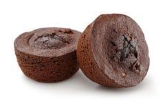 Kakao tort odizolowywający na bielu fotografia royalty free