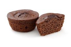 Kakao tort odizolowywaj?cy na bielu zdjęcie stock