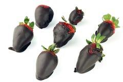 Kakao und Beeren Lizenzfreie Stockfotos