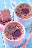 Kakao und Schokolade lizenzfreie stockbilder