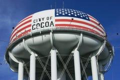 kakao wierza woda Zdjęcia Royalty Free