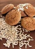 kakaoatmeal Royaltyfri Fotografi