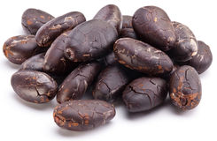Kakaobönor Arkivfoto