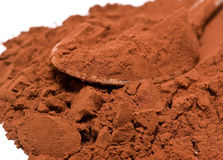 Kakaopulver lizenzfreies stockfoto
