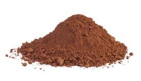 Kakaopulver Stockfoto