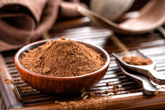 Kakaopulver Lizenzfreie Stockfotos