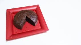 Kakaosockerkaka Arkivbilder