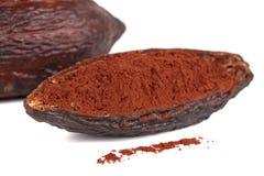 Kakaowa owoc Zdjęcia Stock