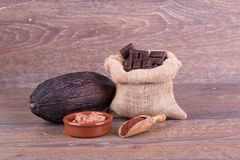 Kakaowa owoc Fotografia Stock