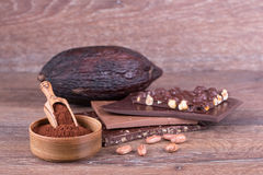 Kakaowa owoc Zdjęcia Royalty Free