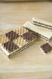 Kakaowi opłatki obraz stock