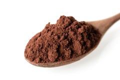 Kakaowy proszek Fotografia Stock