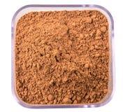 Kakaowy proszek W zbiorniku III Obraz Stock