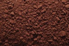 kakaowy tło proszek Fotografia Royalty Free