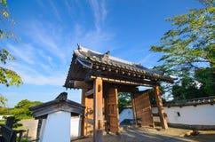 Kakegawa城堡 库存照片