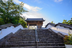 Kakegawa slott royaltyfri fotografi