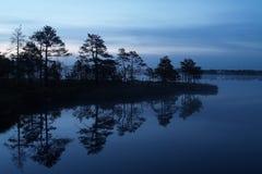 kakerdaja jezioro Fotografia Royalty Free