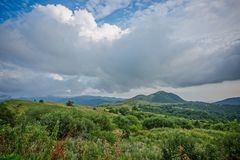 Kakheti. The hills Of Kakheti. Georgia royalty free stock image
