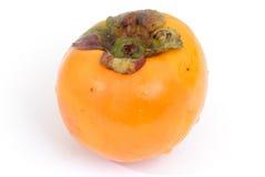 Kaki. Fresh Kaki fruit on white background Royalty Free Stock Images