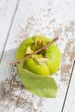 Kaki fruit on white background Royalty Free Stock Image