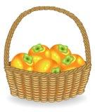 Kaki juteux frais de récolte généreuse Le fruit est tr?s savoureux et vitamine Un festin exquis pour la sant? et le plaisir Vecte illustration libre de droits