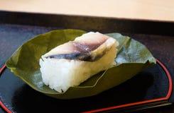 Kaki no Ha Sushi Stock Photos