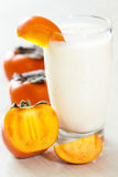 Kaki smoothie Stock Images