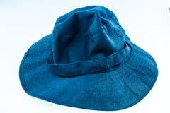 Kakifarbiger Boonie-Hut oder Sonnenhut Lizenzfreie Stockbilder