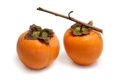 Kakipflaumenbaumfrucht Stockfoto