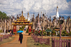 Kakku, Myanmar Stockbilder