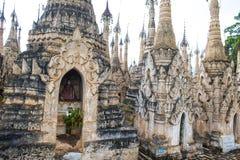 Kakku pagoda Myanmar Stock Images