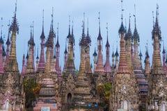Kakku pagoda Myanmar Royalty Free Stock Images