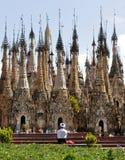 Kakku Pagodas temple complex prayer
