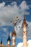 Kakku-spider, Myanmar Royalty Free Stock Photo