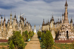 Kakku Temples, Myanmar Royalty Free Stock Photos