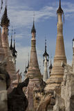 Kakkutempels, Myanmar Stock Fotografie
