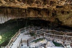 Kaklik Cave in Denizli Royalty Free Stock Photography