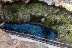 Kaklik Cave in Denizli Stock Photo