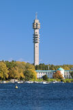 Kaknas TV tower (Kaknastornet) in Stockholm, Sweden Stock Images
