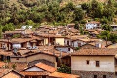 Kakopetria, famous picturesque village in Troodos Mountains. Cyp Stock Photos