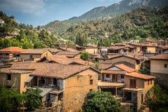 Kakopetria Village. Nicosia District. Cyprus Stock Photos
