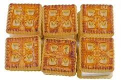 Kakor bakar, bakat, efterrätten, bagerit, socker, sött som är smakligt Arkivbild