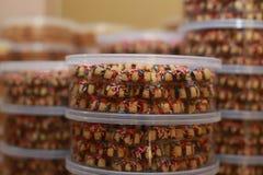 Kakor för Eid Mubarak royaltyfri foto