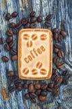 Kakor med kaffe Royaltyfri Bild